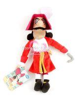 Free shipping Original Jake and the Neverland Pirates Toy  Jake e os Piratas Plush Piratas Skipper 25cm Plush Toys for Kids Gift