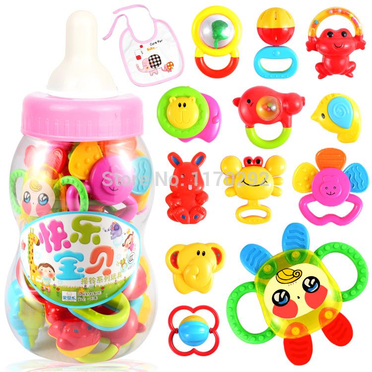 Hot 2014 apprentissag& éducationproduction 0-1 ans bébé jouets éducatifs jouets hochets jouets de dentition hochet infantile livraison gratuite