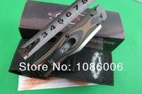 Free shipping MICR 7Cr17Mov blade g10 handle folding knife (ask for more pictures)