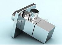 Free Shipping Triangle valve bathroom accessory 1/2*1/2 suqare angle valves se133