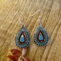 2014 New Sale Vintage Earrings For Women Fashion Earrings Statement Jewelry ,Wholesale #DJ078Blue