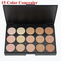 2014 New Professional 15 Color Face Concealer Camouflage Makeup Neutral Palette Set With Cheap Cost Price 2# Free Shipping