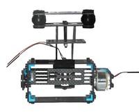 GoPro 3 Camera Mount FPV Shock-Absorption PTZ Kits Frame +2 x brushless Motor