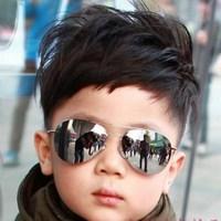 1PC 2014 New Cool Fashion Baby Children Kids Boy Girl Sunglasses Metal Frame Child Goggles EJ870189