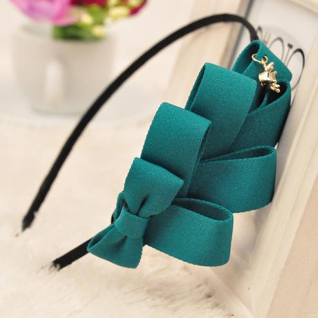 Korean version of the multi-storey boutique hair accessories Korean hairpin hair bow bow hair bands headband [ 6534 ](China (Mainland))