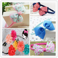 Mixcolor! Child headband girls sweet children child baby clip hair accessory princess hair bands, kids headwear ,10 pcs/lot