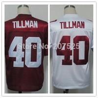 Arizona 40 Pat Tillman Retro Elite Jersey Football Shirt, Cheap Tillman Throwback American Football Jerseys Rugby Jersey