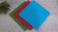 free shipping hot resistant silicone trivet pot holder  silicone mat 4pcs/lot