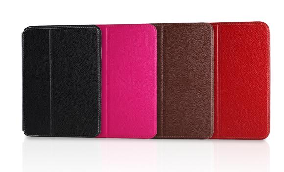 Yoobao Slim Smart Genuine Leather Case Smart Leather Cover for iPad Mini 1Gen & iPad Mini Retina 2Gen(China (Mainland))
