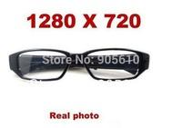New 720P HD Hidden Camera Glasses Fashion Eyewear DVR Camcorder Video Recorder 5m pixels FREE SHIP