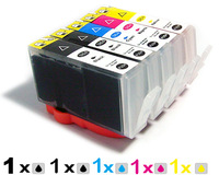 5 ink cartridge with chip compatible for HP 564 / 564XL photosmart B8558 B8553 C5300 D7560 US machine Printer