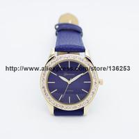 2014 New arrival Fashion Women Rhinestone Watches Girl Geneva Watch diamond jewelly clock 3colors 35pcs/lot reloj de pulsera