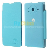 Huawei U8833 Case,High Quality Back Battery  Housing Leather Flip Cover For Huawei Ascend Y300 U8833 1 pcs Free Shipping