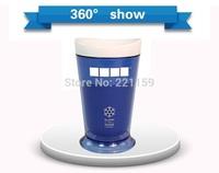 2014 summer hot sale SLUSH&SHAKE MAKER sorbet maker cups Quick Easy Magic Ice Cream Maker Cup mugs 2 pcs free ship