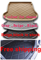 Wholesale free shipping !!  Mitsubishi ASX  Rubber Foam Trunk Tray Liner Cargo Mat Floor Protector 2010-2013
