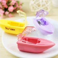 Free shipping Min.order $30(can mixed)   Stationery pencil sharpener - mini yacht style pencil sharpener
