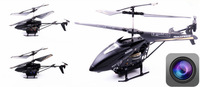 Full HD aerial remote control aircraft alloy chassis (3.5 channel with gyro) camera ruggedness remote control helicopter model