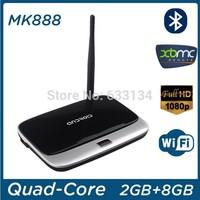 New!Bluetooth version EKB311 MK888B CS918 quad core tv box Android 4.2.2 2GB+8GB RK3188 28nm Cortex A9 mini pc T-R42