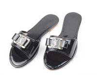 2014 New Arrival Fashion Girls Flat Sandals Women's Beautiful Name Flip Flops Summer Soft Flat Slides Red Shoes Free Ship 36-41