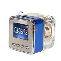 Portable Mini Speaker Digital Music MP3/4 Player Micro SD TF USB FM Radio P4PM