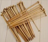 36pcs 18 sizes 14'' 35cm Carbonize Bamboo Single Pointed Knitting Needles