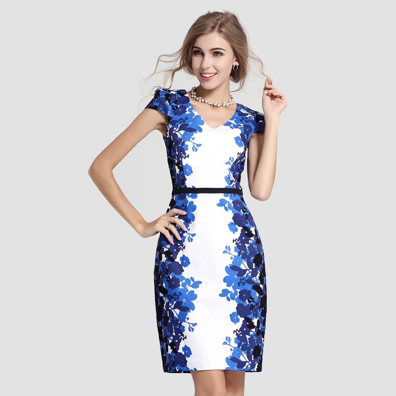 Side panel dress plus size