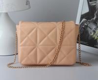 Small bag  plaid chain bag small mini cross-body bag one shoulder female bags
