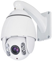 2Megapixel 1080P 10X optical Zoom IR IP ptz dome camera  auto day/night  motion detection support Onvif ptz