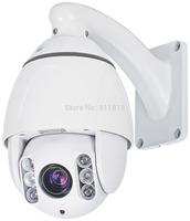 1.3Megapixel 720P 10X optical Zoom IR IP ptz dome camera  auto day/night  motion detection  mobile view ip camera onvif