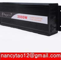 2000VA PURE SINE WAVE INVERTER (36V to 120VAC 4000W 4KW PEAKING) Door to Door Free Shipping