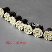 Free shipping LED 5630  9 SMD car   turn brake signal  light 1156 1157  ba15s bulb