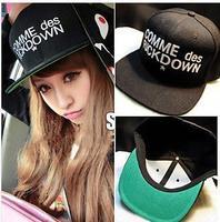 Hot Brand Fashion Snapback For Men Women Comme Des Fuck Down Harajuku GD Baseball Cap Adjustable Hat Drop Ship SCX123-M0658