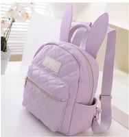 Harajuku soft ice cream soft rabbit ears mini backpack small bag backpack