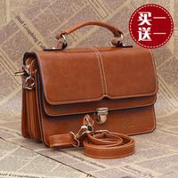 Fashion women's handbag  preppy style fashion vintage messenger bag mobile packet double shoulder bag messenger bag