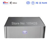 Realan Factory OEM Aluminum Mini ITX Computer Case  HTPC Desktop PC E-N3