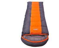 1.6kg Good quality(210T not 190 or 170T polyester fabric) free ship Winter Outdoor Sleep Bag camping adult sleeping bag