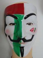 Hot Sales! Top Popular Hip-hop Dancing Performances Masks V Mask Vendetta Party mask, 50 pcs/lot Free  Shipping with e-EMS
