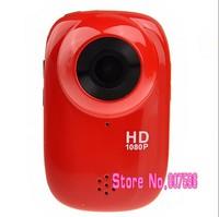 Mini DV with G-sensor /HDMI /TF Slot (Red) SJ1000 SJ1000 1.5-inch LCD FHD 1080P 30M Waterproof Sports Digital Action Camcorder