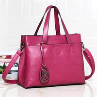 women's patchwork handbag compartment women's handbag dual-use fashion bag messenger bag