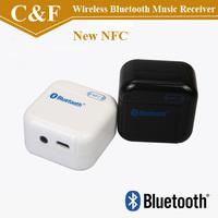Brand New Sale Audio Stereo NFC Wireless Bluetooth Music Receiver Black & White Retail Box+ Freeshipping