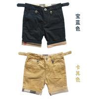Wholesale - HOT! boy cotton Shorts Pure color Jeans 5pcs for 2-6 years children (80-120CM)clothing pants