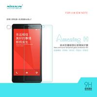 Free shipping Nillkin Amazing H anti-burst tempered glass screen protector film for Xiaomi Redmi Note RedRice Note Hongmi Note