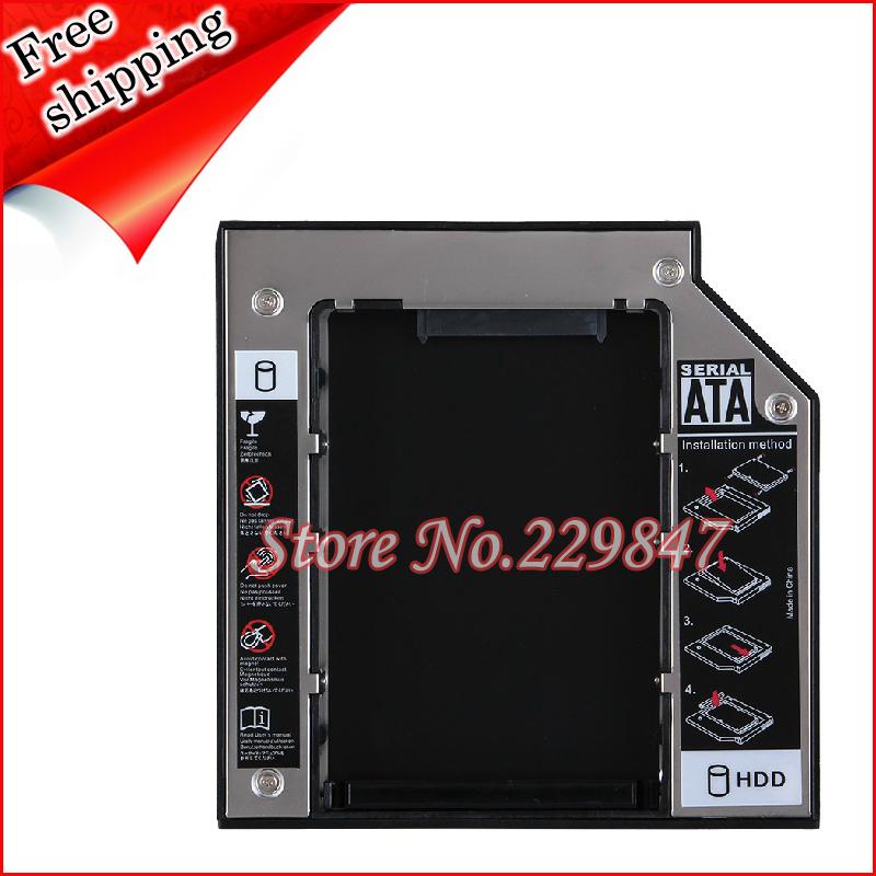 Universal 12.7mm SATA to IDE Optical Bay Hard Drive Adapter Caddy Fit Slot Load ATAPI/IDE drive()