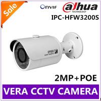 IPC-HFW3200S 2Megapixel Full HD Network Small IR Bullet Camera IP Dahua HFW3200S Surveillance Camera 1080P ONVIF IP CAMERA