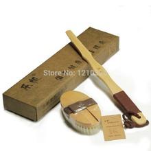 wooden bath brush promotion