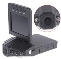 F198 Car DVR Camera Driving recorder with 6 IR LED and 270 degree screen rotation Car Black Box +Free 4GB SD Card Free Shipping