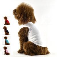 dog T-shirt Pet Dog Vest , Puppy Clothing , Waistcoat, Summer Clothes For Dog Cat ,Pet Product