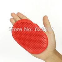 100pcs/lot Dog special take a shower brush rubber massage brush Big dog hair brush soft dog brushes Pet supplies