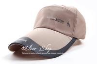 New 2014 Letter Design Long bongrace Visors Baseball hat with brim