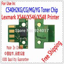 Toner Chip For Lexmark C540 Printer,Reset Chip For Lexmark X546 X548 Printer,For Lexmark X548 X546 Toner Refill Chip Cartridge